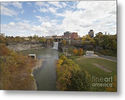 Metal Print featuring the photograph High Falls by William Norton
