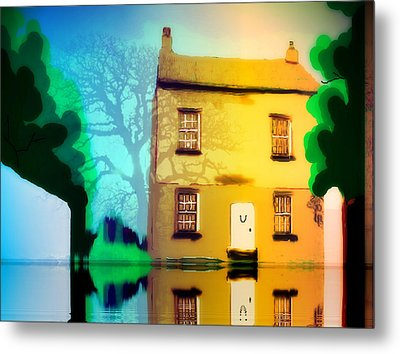 High House Metal Print by Susan  Solak