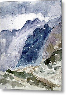 High Mountains Metal Print