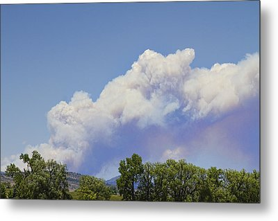 High Park Fire Larimer County Colorado  Metal Print by James BO  Insogna