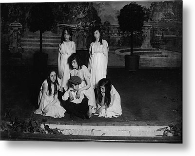 High School Play, Original Caption Miss Metal Print by Everett