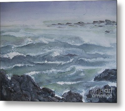 High Tide Metal Print by Ronald Tseng