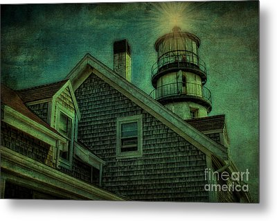 Metal Print featuring the photograph Highland Lighthouse by Gina Cormier