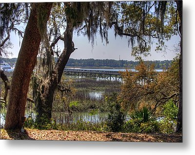 Hilton Head Scenic Metal Print by Keith Wood