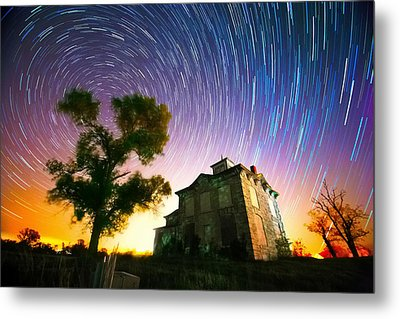 History Of The Universe Metal Print by Evan Ludes
