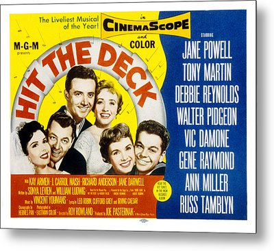 Hit The Deck, Ann Miller, Tony Martin Metal Print by Everett