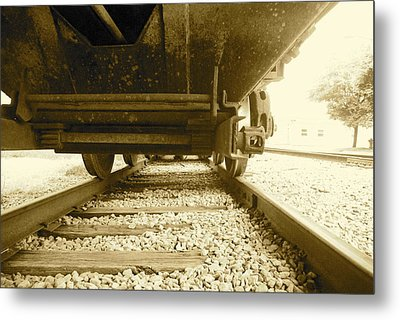 Hitch A Ride Metal Print
