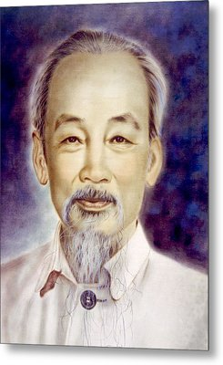 Ho Chi Minh 1890-1969 Metal Print by Everett