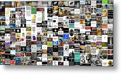 Hodgepodge Metal Print by Holley Jacobs