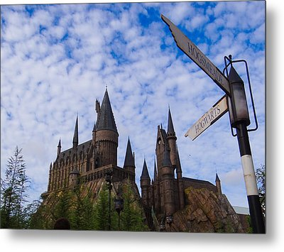 Hogwarts Castle Metal Print by Julia Wilcox