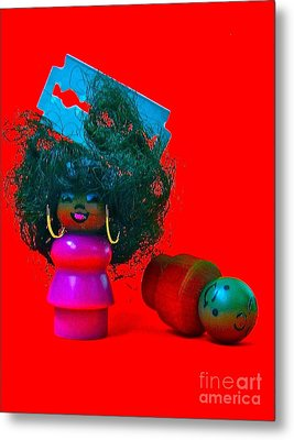 Hold My Baby Metal Print by Ricky Sencion