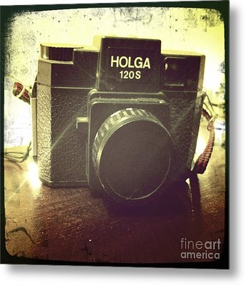 Metal Print featuring the photograph Holga by Nina Prommer