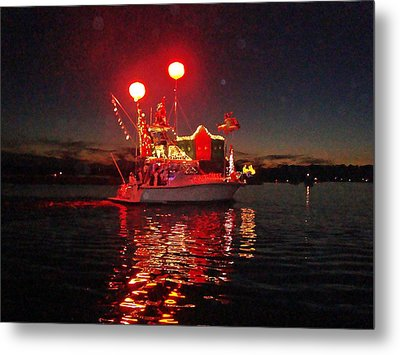 Holiday Flotilla  Metal Print