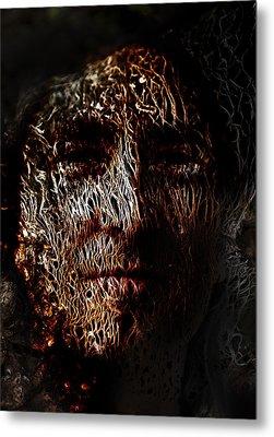 Hollowman Metal Print by Christopher Gaston