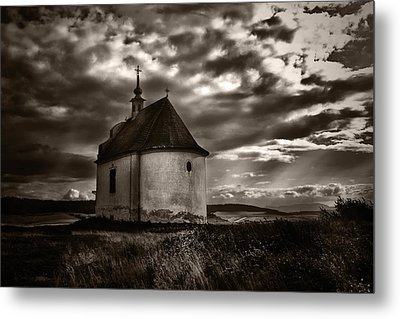 Holy Cross Chapel Metal Print by Tom Bell