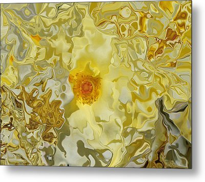 Homage To The Sun  Metal Print by Daniele Smith