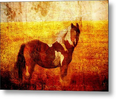 Home Series - Strength And Grace Metal Print by Brett Pfister