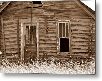 Homestead Past Metal Print by Marty Koch