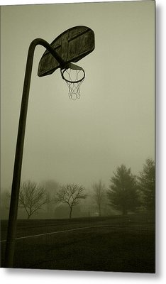 Hoop Dream Metal Print by Steven Ainsworth
