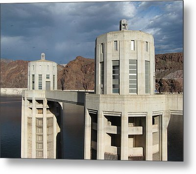 Hoover Dam Metal Print by Michelle Wolff