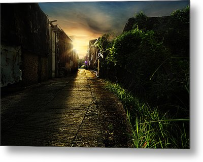Hope Metal Print by Afrison Ma