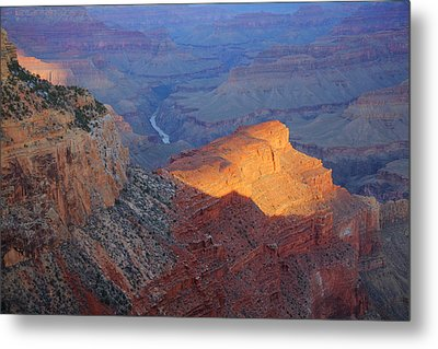 Hopi Point Sunrise Metal Print by Mike Buchheit