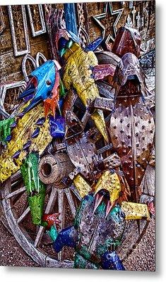 Horning In Metal Print by Ken Williams