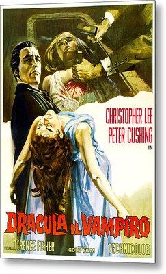 Horror Of Dracula Aka Dracula Metal Print by Everett