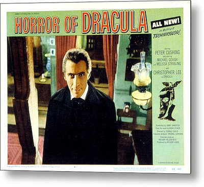 Horror Of Dracula, Christopher Lee, 1958 Metal Print