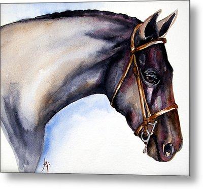Horse Head 5 Metal Print by Leyla Munteanu