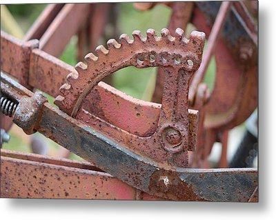 Horse Powered Metal Print