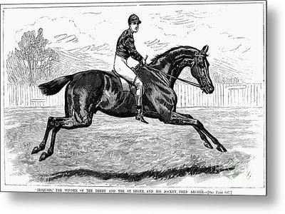 Horse Racing, 1880s Metal Print by Granger