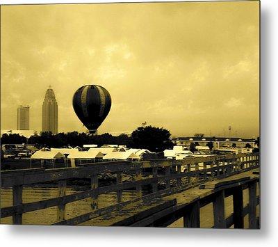 Hot Air Balloon Metal Print by Floyd Smith