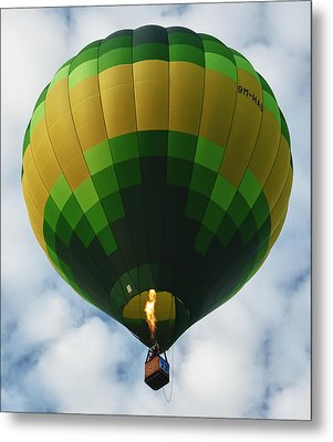 Hot Air Balloon Metal Print by Zoe Ferrie