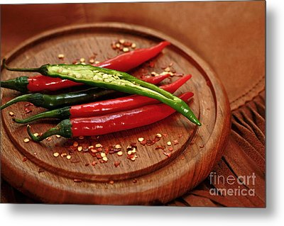 Hot Pleasures From Mexico Metal Print by Inspired Nature Photography Fine Art Photography
