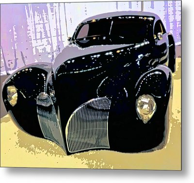 Hot Rod Metal Print by Michael Pickett