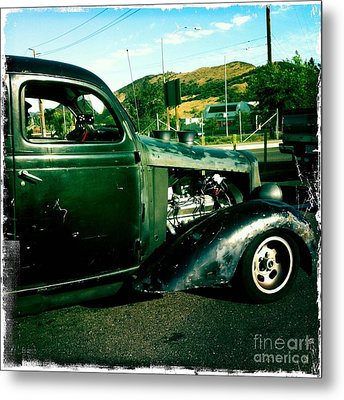 Hot Rod Metal Print by Nina Prommer