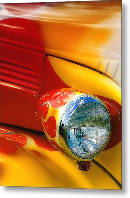 Metal Print featuring the digital art Hot Rod Rgb 01 by Kevin Chippindall