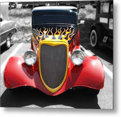 Metal Print featuring the photograph Hot Wheels   by Raymond Earley