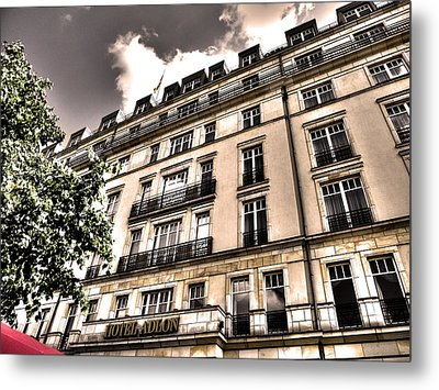Hotel Adlon - Berlin Metal Print by Juergen Weiss