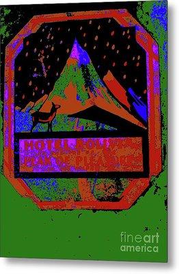 Hotel Boliva 6 Metal Print