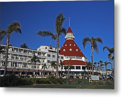 Hotel Del Coronado  Metal Print by Jonathan Whichard