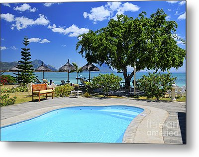 Hotel Dream - Mauritius Metal Print by JH Photo Service