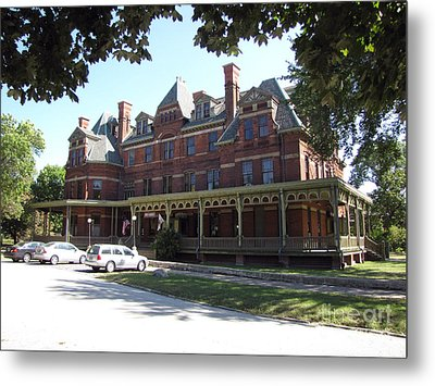 Hotel Florence Chicago Illinois Metal Print by Cedric Hampton