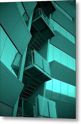 Hotel W - Barcelona Metal Print by Juergen Weiss