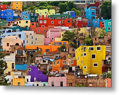 Metal Print featuring the photograph House Of Guanajuato - Mexico by Craig Lovell