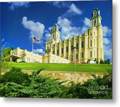 House Of Our Lord Metal Print by Diana Cox