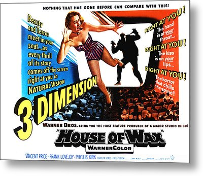 House Of Wax, 1953 Metal Print by Everett