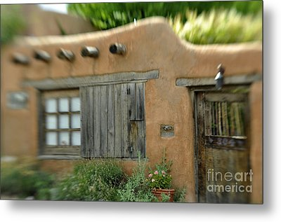 House With A View Metal Print by Tamera James