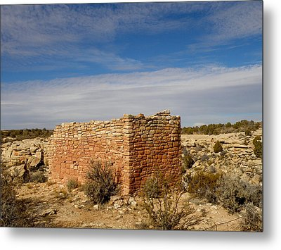 Hovenweep's Twin Towers Metal Print by Feva  Fotos